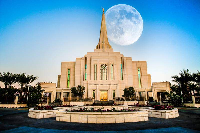 Mormon Temple in Gilbert