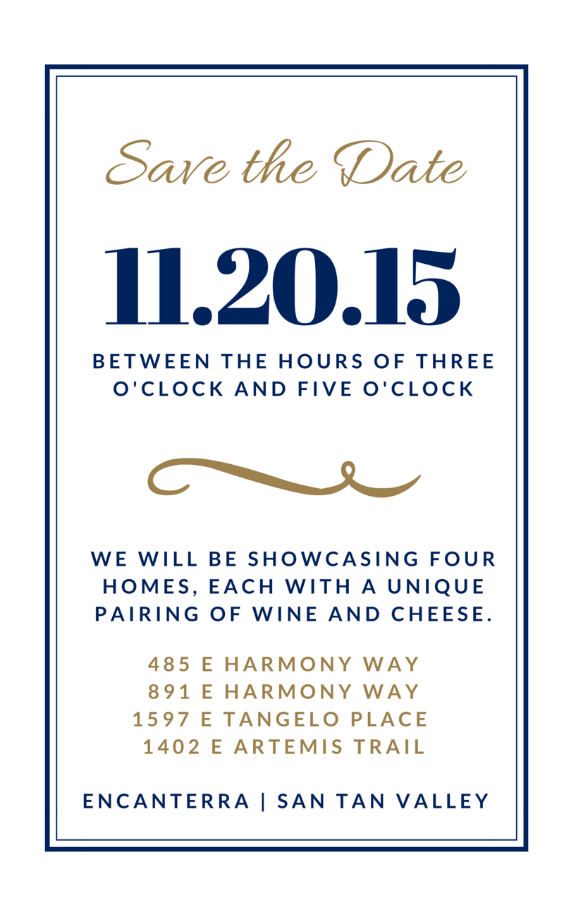 Save the date | 11.20.15