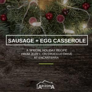 Sausage + Egg Casserole Recipe