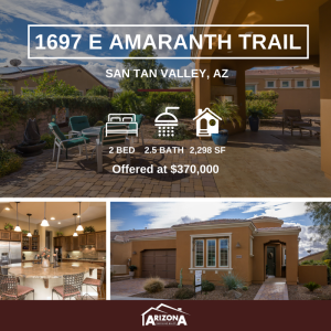 Featured Listing | 1697 E Amaranth Trail | Encanterra, San Tan Valley, AZ 85140