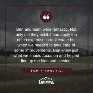 Client Testimonial | Tom + Nancy L.