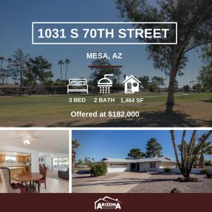 Featured Listing | 1031 S 70th Street, Mesa, AZ