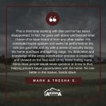 Client Testimonial | Mark + Tresha