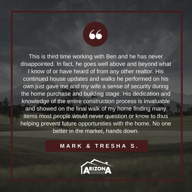 AZEXP Testimonials - Mark + Tresha