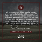 Client Testimonial | Robert + Phyllis C.