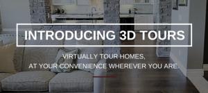 Introducing 3D Virtual Tours!