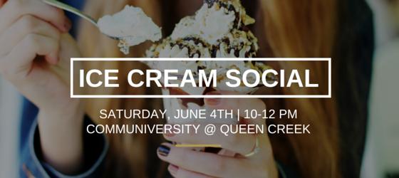 Queen Creek's Ice Cream Social