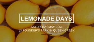 Queen Creek's Lemonade Days