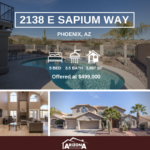 Price Reduced   Spacious Phoenix Home with Views + Pool