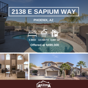 Price Reduced | Spacious Phoenix Home with Views + Pool
