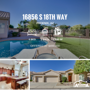 Pending Sale | Gorgeous Home w/ Breathtaking Golf Course & South Mountain Views