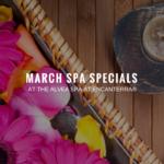 March Spa Specials at Alvea Encanterra