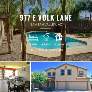 Pending Sale | Super Spacious San Tan Valley Home