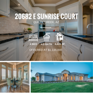 Pending Sale | Luxurious New Custom Home in the Gated Pecans Community