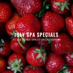 July Specials at the Alvea Spa at Encanterra®